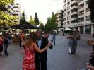 Nyár végi tangó a Corvin sétányon - Bakonyi Tibor képei